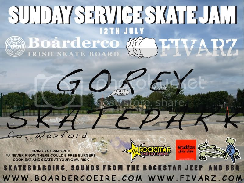 Boarderco Tour 2009 12th July Gorey